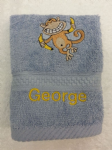 MONKEY PERSONALISED FACE CLOTH